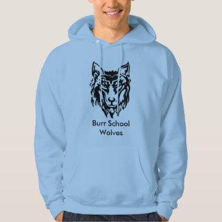 Camiseta de los lobos de la escuela de las rebabas