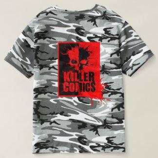 Camiseta de los militares de los tebeos del