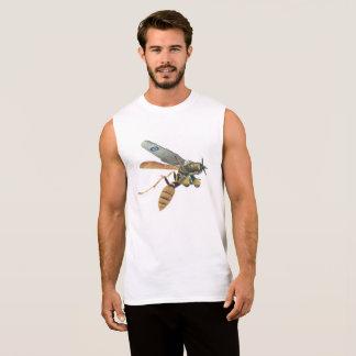 Camiseta de los militares del avión y de la avispa