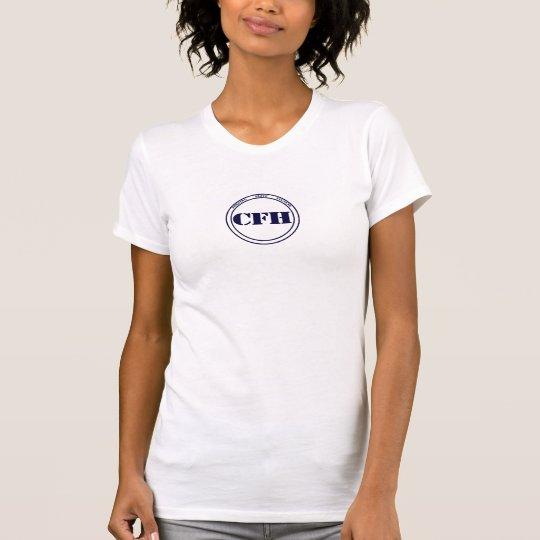 Camiseta de los modelos de las mujeres