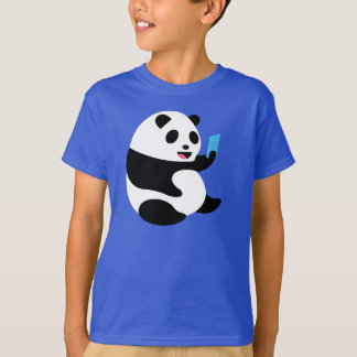 """Camiseta de los muchachos: """"Panda de Selfie """""""
