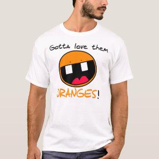 Camiseta de los naranjas