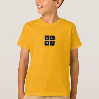 camiseta de los niños de Code.org
