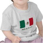 Camiseta de los niños de la bandera de México