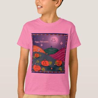 Camiseta de los niños de los ojos y de las