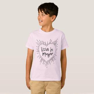 Camiseta de los niños de Mujer del La de Viva