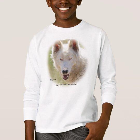 Camiseta de los niños de White Wolf