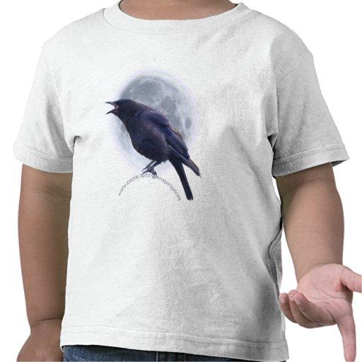 Camiseta de los niños del CUERVO NEGRO y de la LUN