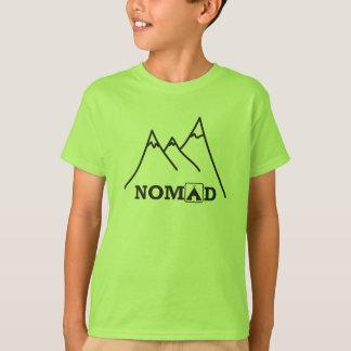 Camiseta de los niños del explorador del nómada