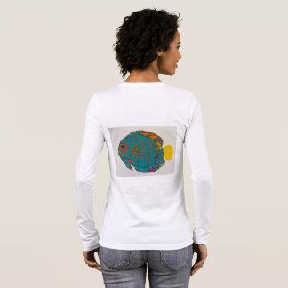 Camiseta de los pescados del disco