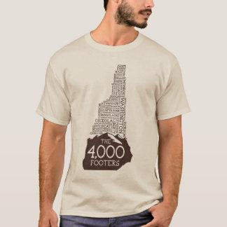 Camiseta de los pies de página del NH 4000