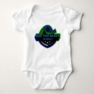 Camiseta de los prácticos de costa del bebé