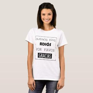 """Camiseta de los """"profesores"""""""