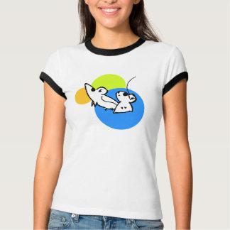 Camiseta de los puntos de los ratones