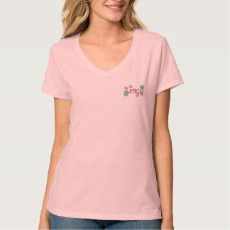 Camiseta de los puntos y de las flores de ASTROS