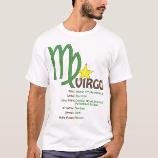Camiseta de los rasgos del virgo