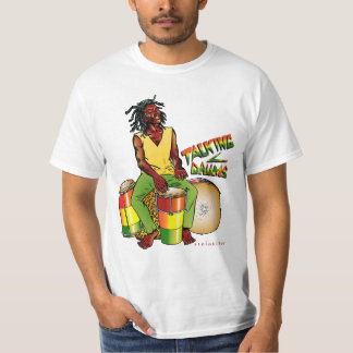 Camiseta de los tambores de Rasta que habla