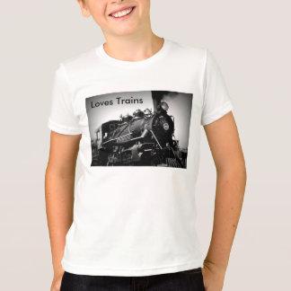 Camiseta de los trenes de los amores