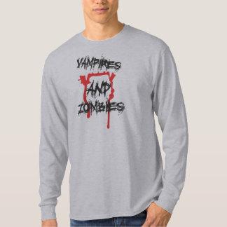 Camiseta de los vampiros y de los zombis de Fidel