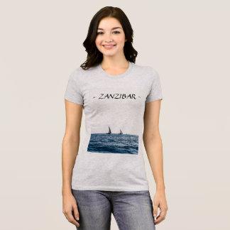 Camiseta de los veleros de ZANZÍBAR (mujeres)