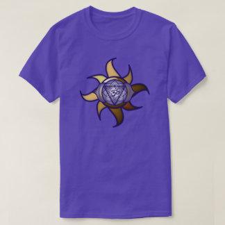 Camiseta de Lotus de la penetración de la yoga del