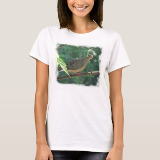Camiseta de luto del ~ de la paloma