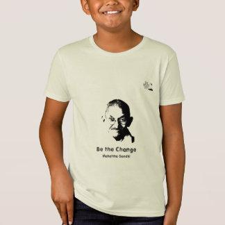 Camiseta de Mahatma Gandhi - niños orgánicos