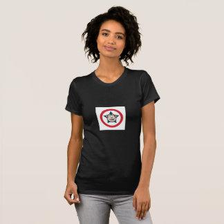 Camiseta Camiseta de manga corta de las señoras estupendas
