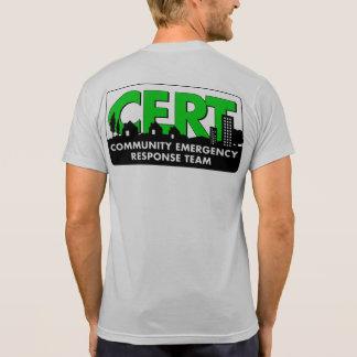 Camiseta de manga corta del CERT