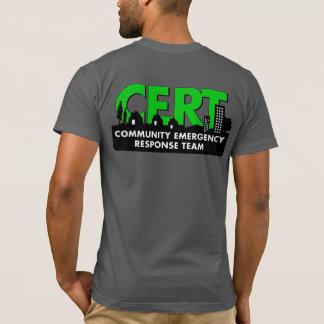 Camiseta de manga corta del premio del CERT