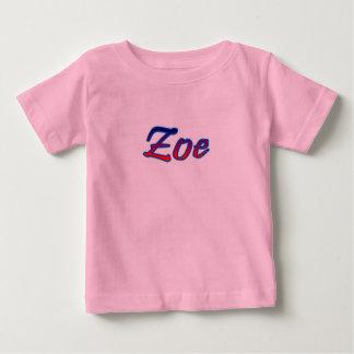 Camiseta de manga corta rosada fot Zoe