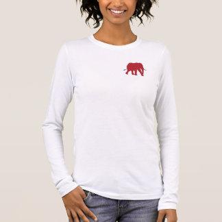 Camiseta De Manga Larga Ahorre la manga larga de los elefantes