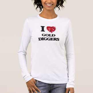 Camiseta De Manga Larga Amo los buscadores de oro