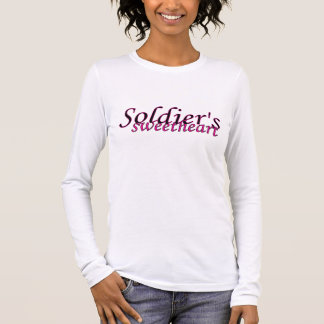 Camiseta De Manga Larga Amor de los soldados