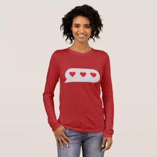 Camiseta De Manga Larga Charla del amor
