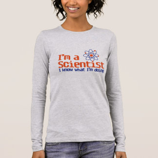 "Camiseta De Manga Larga ""Científico """