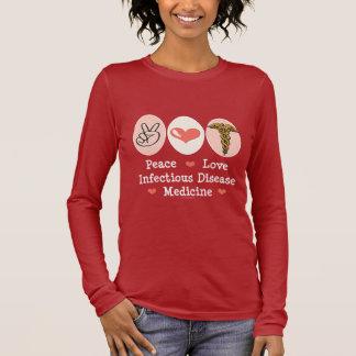 Camiseta de manga larga de la enfermedad