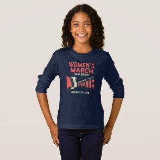 Camiseta de manga larga de marzo San Diego de las