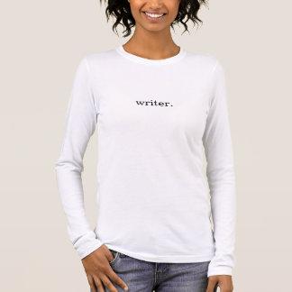 Camiseta De Manga Larga Escritor