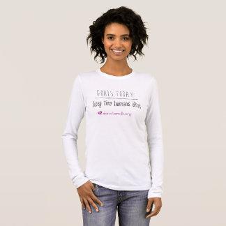 Camiseta De Manga Larga Las metas del noroeste del banco de la leche de