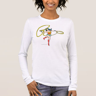 Camiseta De Manga Larga Lazo de balanceo de la Mujer Maravilla