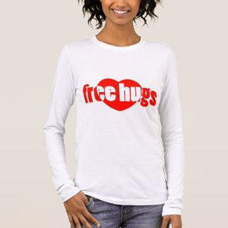 Camiseta De Manga Larga Libere los abrazos