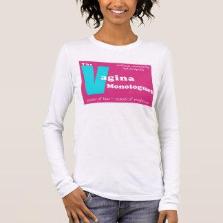 Camiseta De Manga Larga Monólogos Indianapolis de la vagina