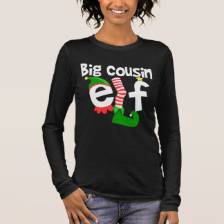 Camiseta De Manga Larga Navidad grande del duende del primo