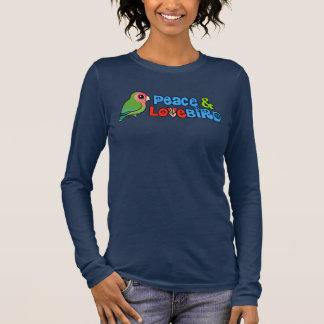Camiseta De Manga Larga Paz y Lovebird