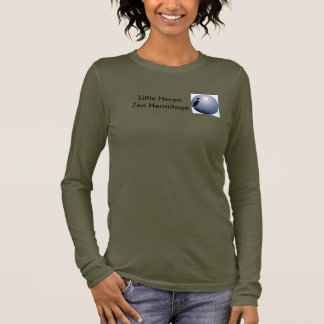 Camiseta De Manga Larga Pequeña ermita del zen de la garza