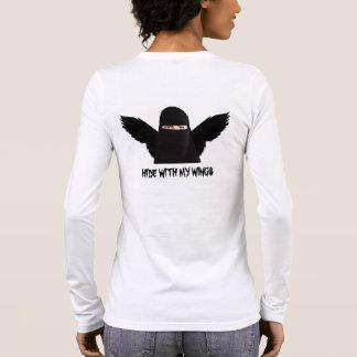 Camiseta De Manga Larga Piel con mis alas