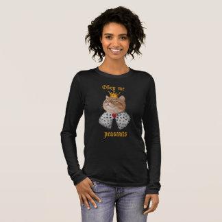 Camiseta De Manga Larga Rey del gato