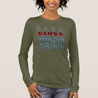Camiseta De Manga Larga Texto precioso del diseño de Sasa Kenia Niza