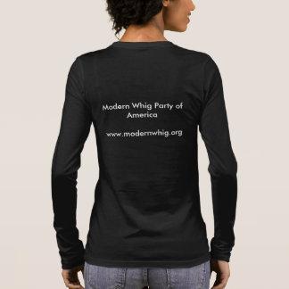 Camiseta De Manga Larga Whig moderno